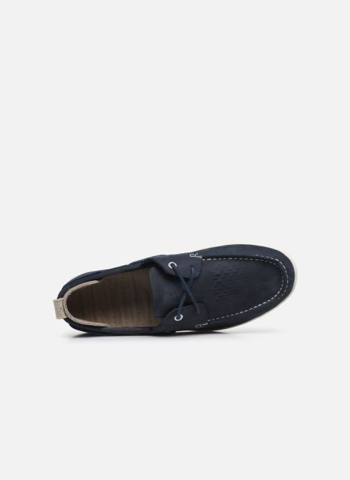 Lace-up shoes Timberland Project Better Boat Shoe Blue view from the left