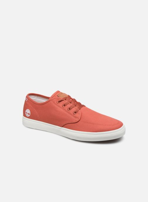 Trainers Timberland Union Wharf Derby Sneaker Orange detailed view/ Pair view