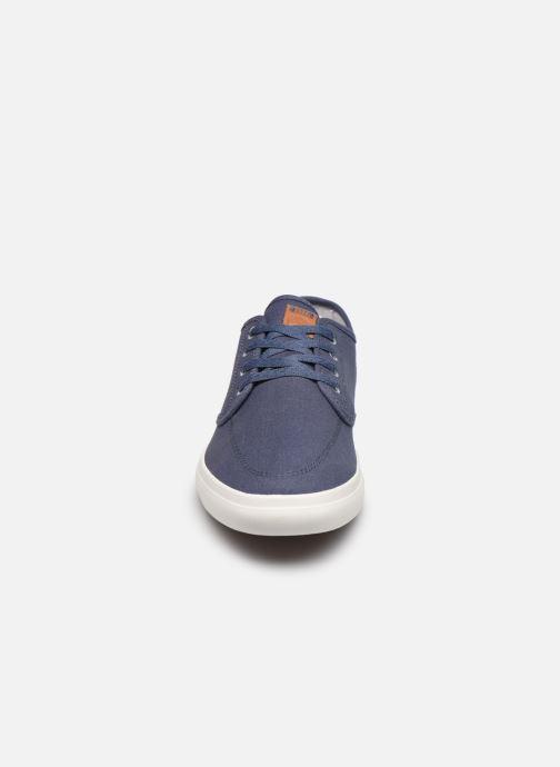 Sneaker Timberland Union Wharf Derby Sneaker blau schuhe getragen