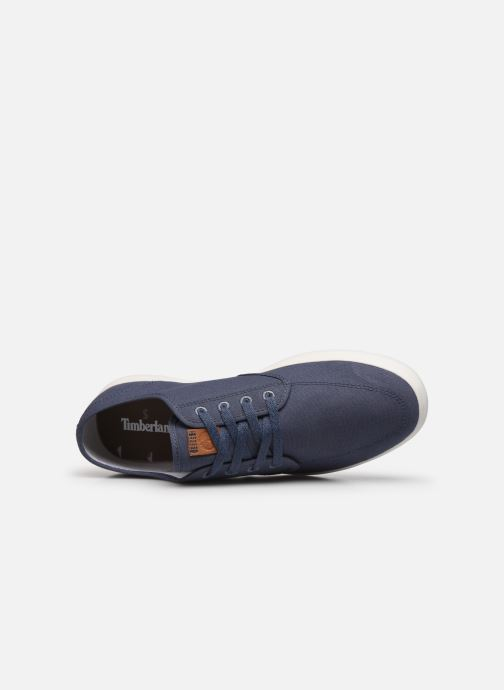 Sneaker Timberland Union Wharf Derby Sneaker blau ansicht von links
