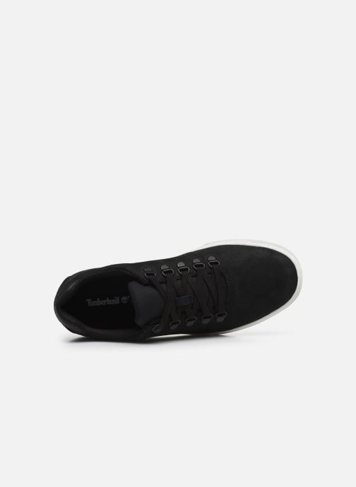 Sneakers Timberland Dauset Leather Alpine Oxford Nero immagine sinistra