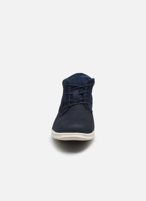 Botines  Timberland Graydon Leather Chukka Azul vista del modelo