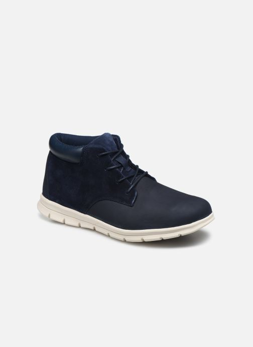 Ankle boots Timberland Graydon Leather Chukka Blue detailed view/ Pair view