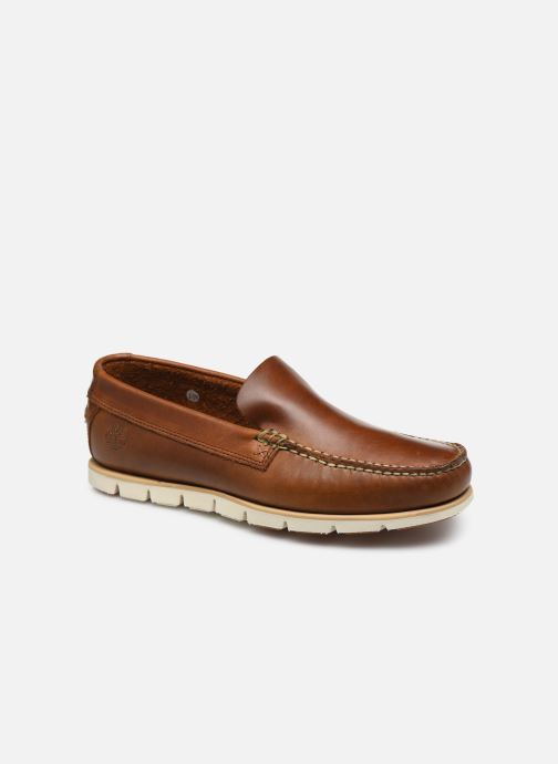 Loafers Timberland Tidelands Venetian Brown detailed view/ Pair view