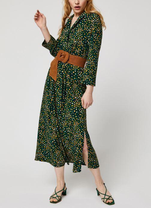 Vêtements Vila Vigiulia Tansy Ancle Dress Vert vue bas / vue portée sac