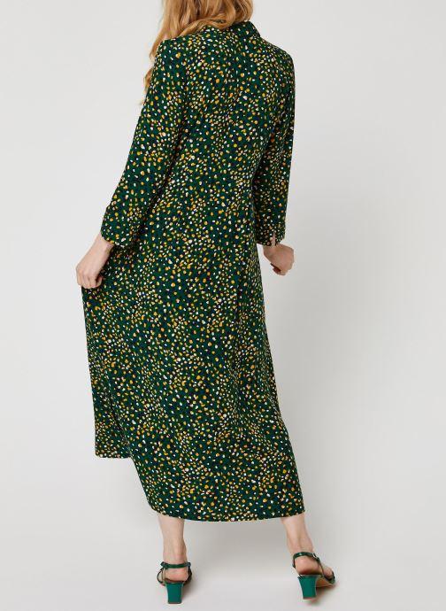 Vêtements Vila Vigiulia Tansy Ancle Dress Vert vue portées chaussures