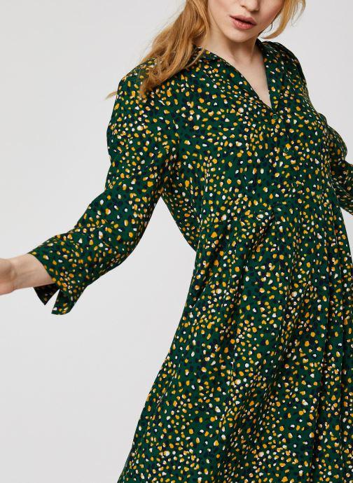 Vêtements Vila Vigiulia Tansy Ancle Dress Vert vue face