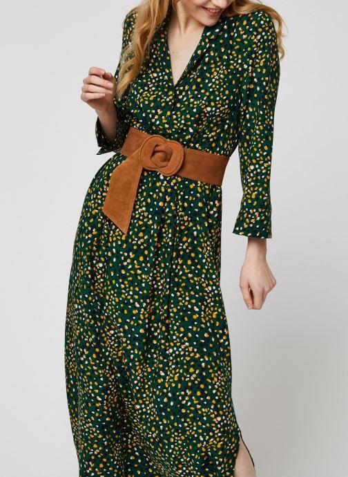 Vêtements Vila Vigiulia Tansy Ancle Dress Vert vue détail/paire