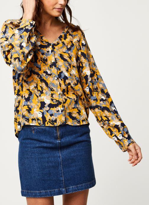 Tøj Vila Viborine Briana Shirt Blå Se fra højre