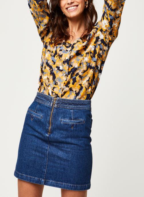 Tøj Vila Viborine Briana Shirt Blå detaljeret billede af skoene