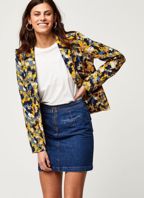 Vêtements Vila Vimusta Briana Blazer Bleu vue détail/paire