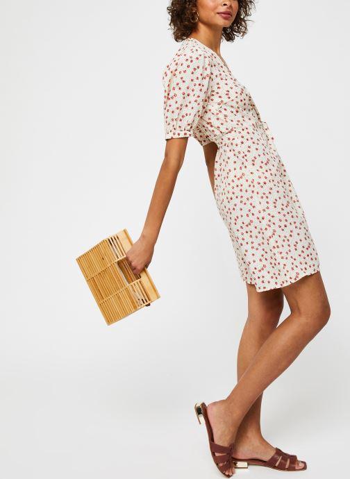Vêtements Vila Vidisa Wrap Dress Beige vue bas / vue portée sac
