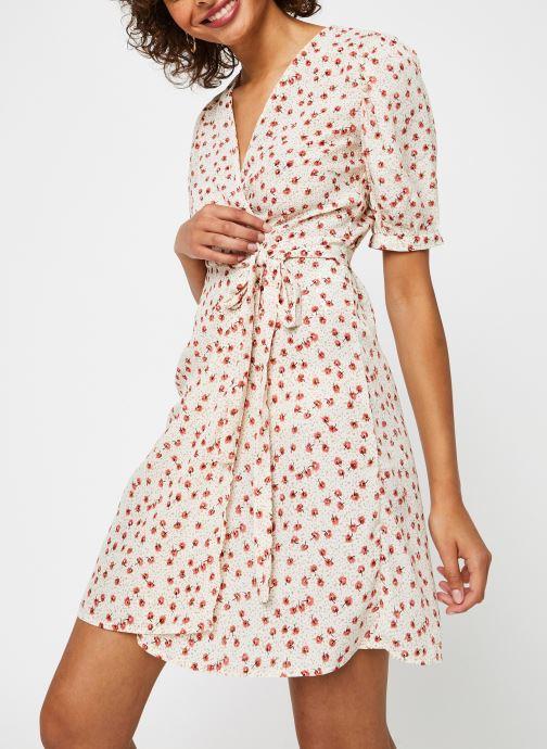 Vêtements Vila Vidisa Wrap Dress Beige vue détail/paire