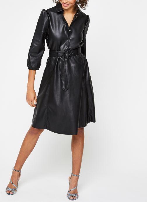 Vêtements Vila Vidaras Dress Noir vue bas / vue portée sac