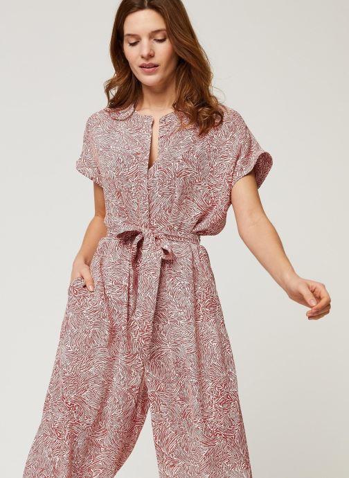 Vêtements Minimum Jumpsuits Tvilla 6630 Rouge vue détail/paire