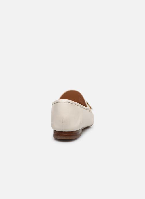 Mocasines Coach Helena C Chain Loafer- Leather Blanco vista lateral derecha
