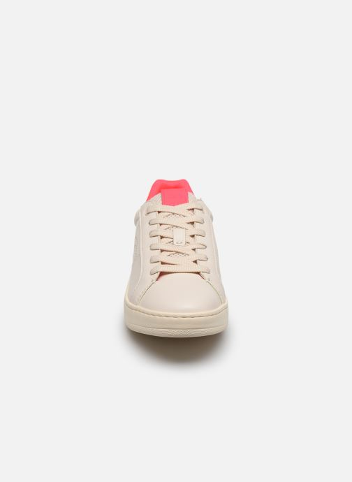 Baskets Coach Adb Leather Low Top Blanc vue portées chaussures
