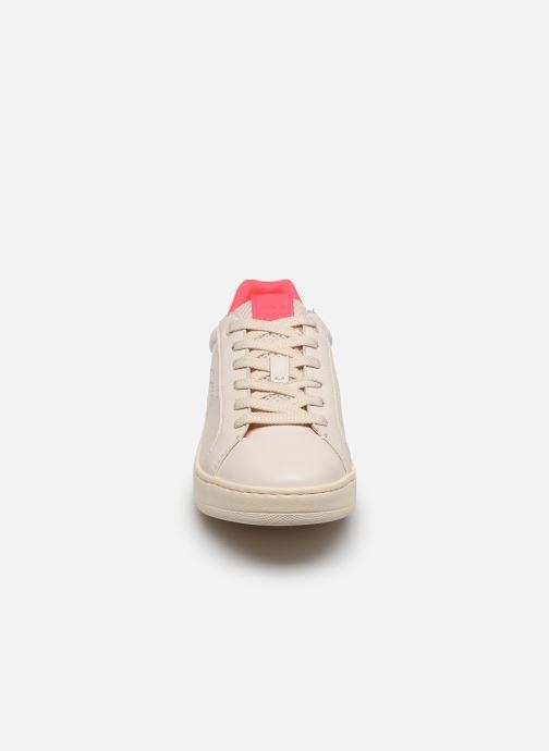 Baskets Coach Adb Leather Low Top Blanc vue portées chaussures