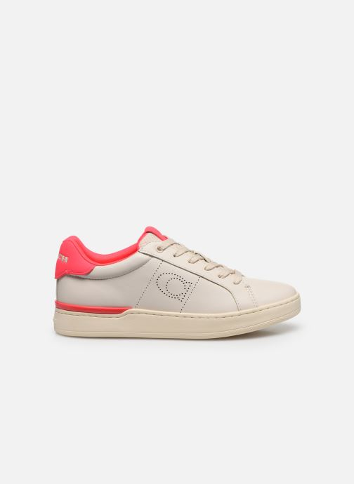 Baskets Coach Adb Leather Low Top Blanc vue derrière