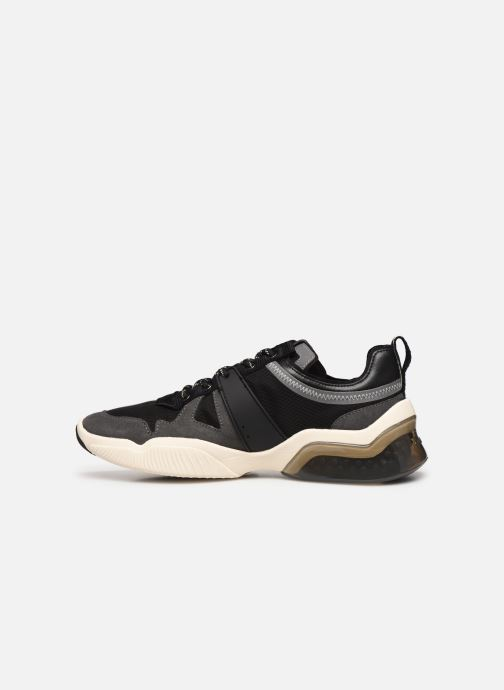 Trainers Coach Tbd Tech Runner Black front view