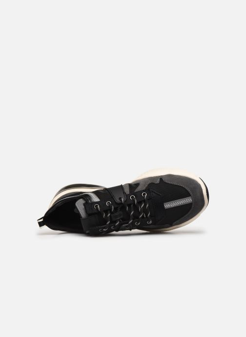 Trainers Coach Tbd Tech Runner Black view from the left