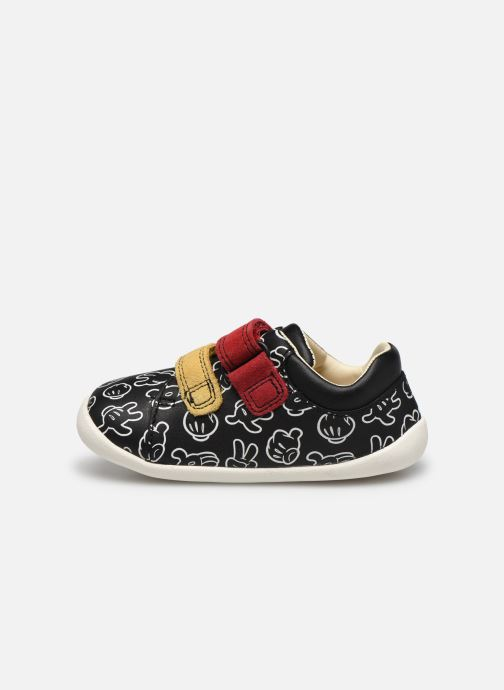 Baskets Clarks Roamer comic T N Noir vue face
