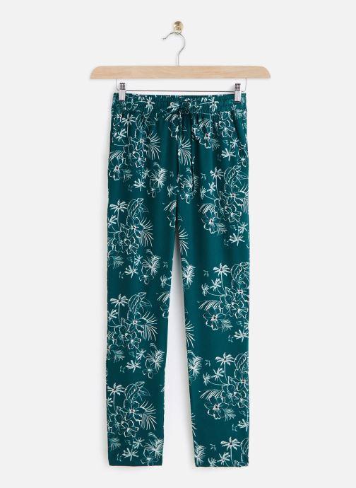Kleding IKKS Women Pantalon BQ22225 Groen detail