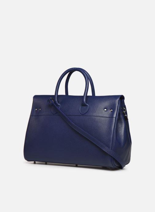 Handtaschen Mac Douglas Mandurah Pyla S blau ansicht von rechts