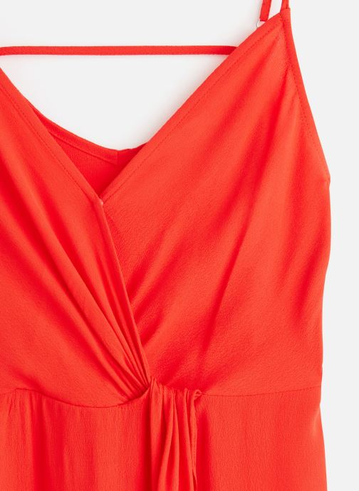 Vêtements See u soon 20121165 Rouge vue portées chaussures