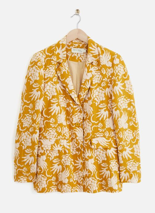 Vêtements See u soon 20151169 Jaune vue détail/paire