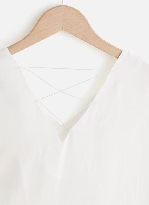 Vêtements See u soon 20112106 Blanc vue portées chaussures