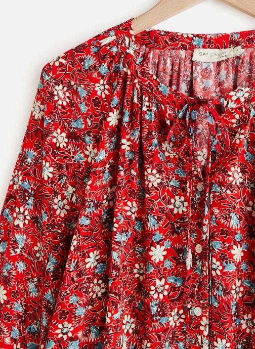 Vêtements See u soon 20111217 Rouge vue portées chaussures