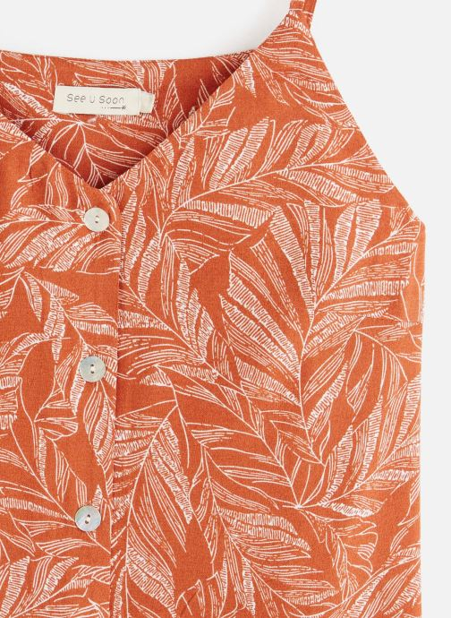 Vêtements See u soon 20112143 Orange vue portées chaussures