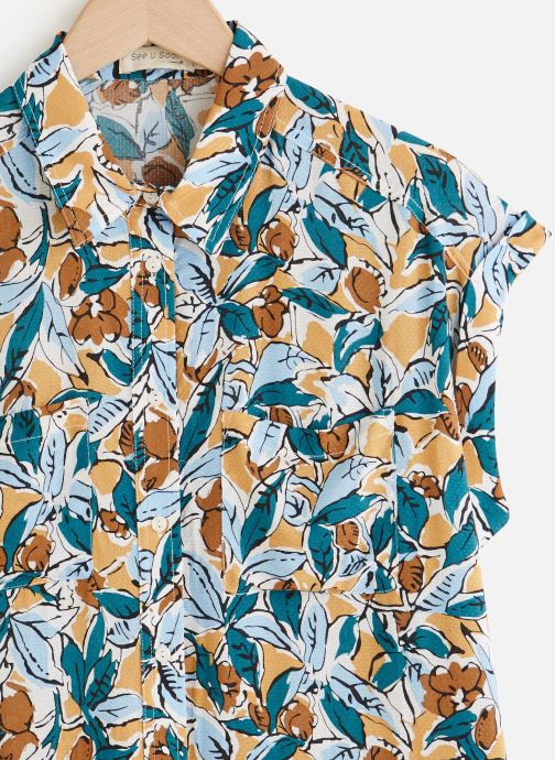 Vêtements See u soon 20112079 Vert vue portées chaussures