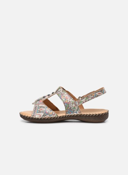 Sandali e scarpe aperte Pédiconfort Julia - Sandales cuir ultra souples PEDICONFORT Marrone immagine frontale