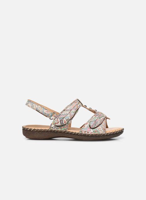 Sandali e scarpe aperte Pédiconfort Julia - Sandales cuir ultra souples PEDICONFORT Marrone immagine posteriore