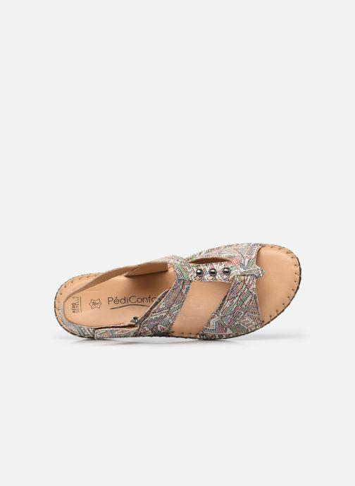 Sandali e scarpe aperte Pédiconfort Julia - Sandales cuir ultra souples PEDICONFORT Marrone immagine sinistra