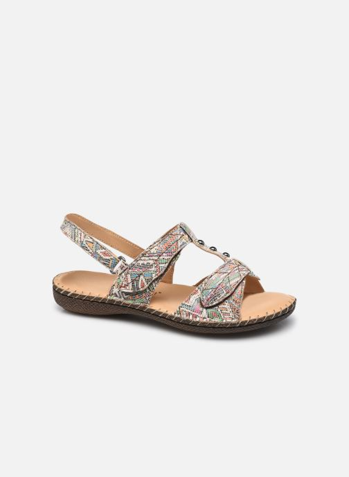 Sandali e scarpe aperte Pédiconfort Julia - Sandales cuir ultra souples PEDICONFORT Marrone vedi dettaglio/paio