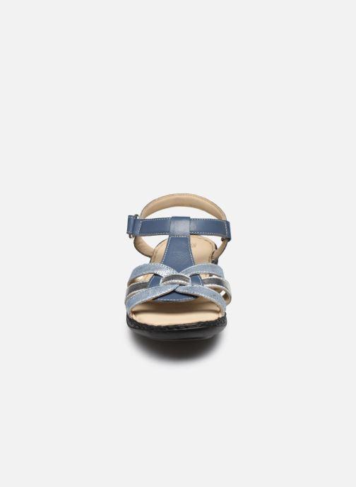 Sandalias Pédiconfort Timéo - Sandales d'été cuir ultra légères Azul vista del modelo