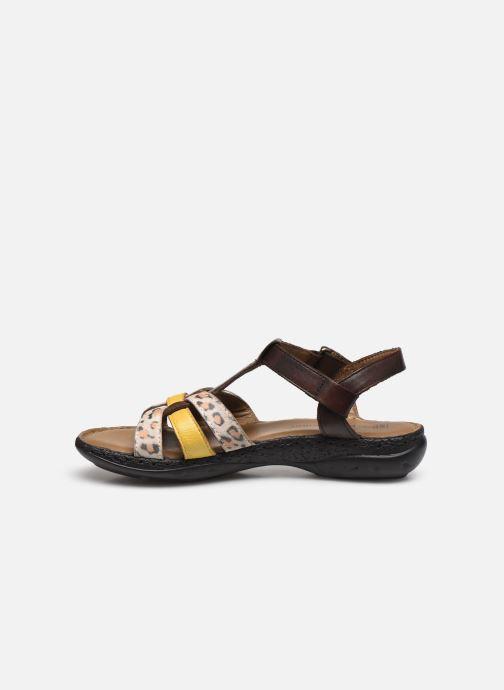 Pédiconfort Timéo Sandales d'été cuir ultra légères