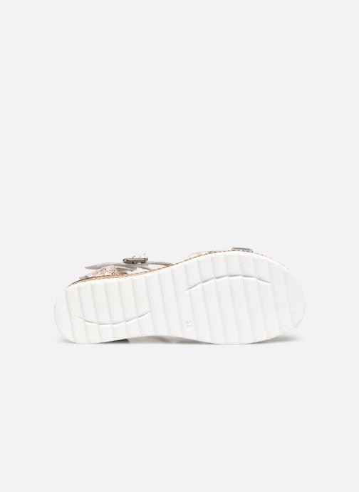 Sandalen Pédiconfort Inès - Sandales bicolores à mémoire de forme silber ansicht von oben