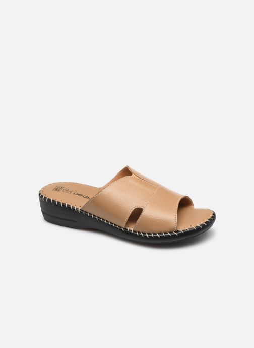 Zuecos Mujer Paula - Mules extra-larges en cuir