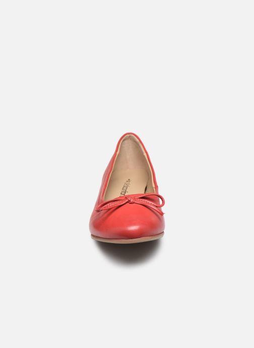 Bailarinas Pédiconfort Céline - Ballerines plates largeur confort Rojo vista del modelo
