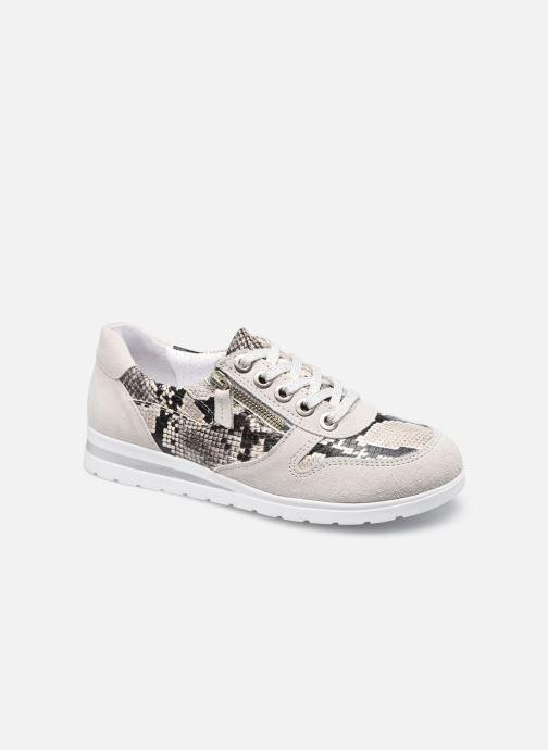 Sneakers Dames June - Baskets avec zip côté aérosemelle amovible