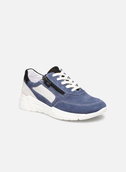 Sneakers Dames Clarisse - Baskets avec zip côté, aérosemelle amovible