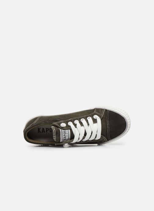 Sneakers Kaporal Odessa W Verde immagine sinistra