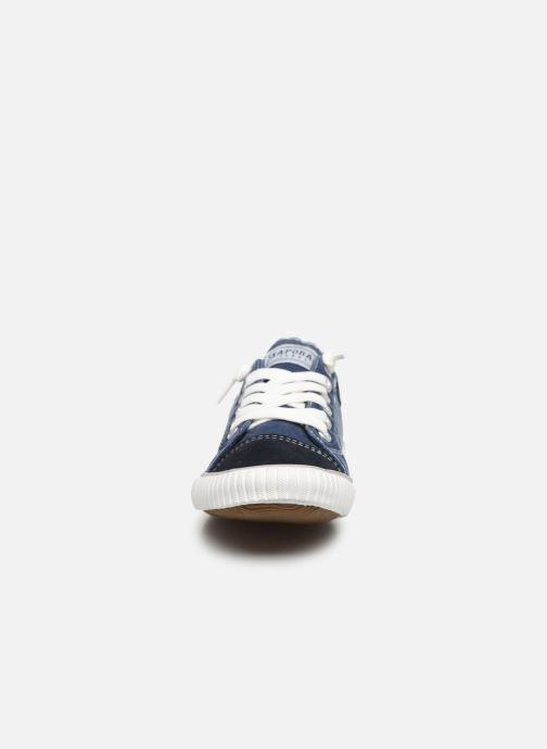 Sneakers Kaporal Odessa W Azzurro modello indossato