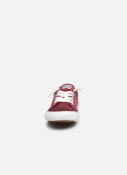 Baskets Kaporal Odessa K Rouge vue portées chaussures