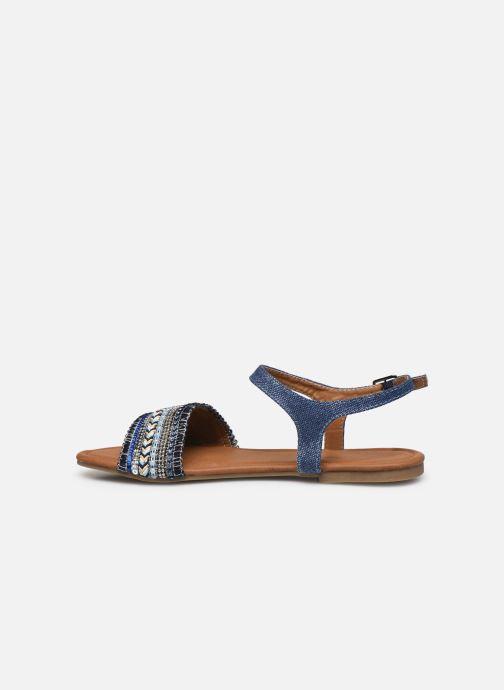 Sandalias Kaporal Rachelle Azul vista de frente