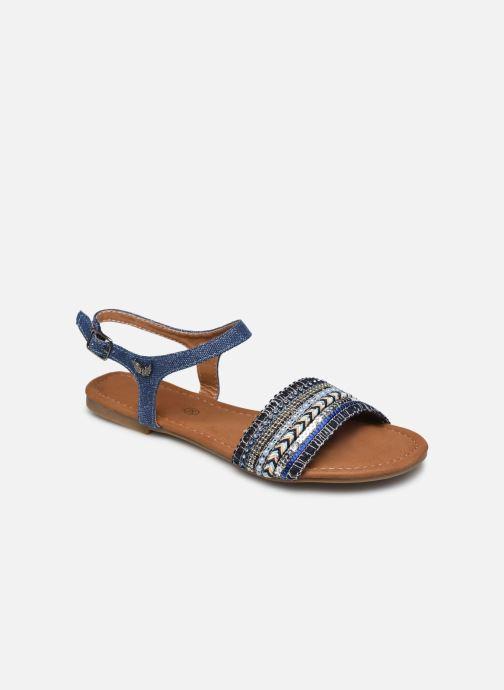 Sandalias Kaporal Rachelle Azul vista de detalle / par